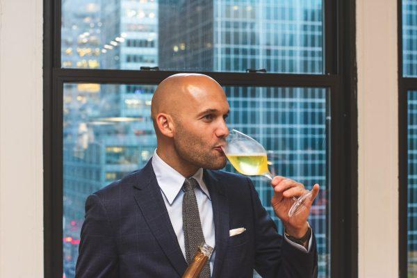 Bald Man at a Wedding