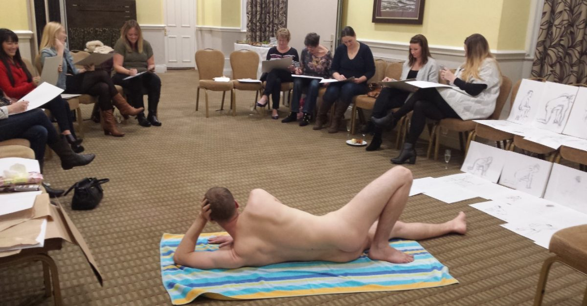 Life Drawing, low key hen do ideas